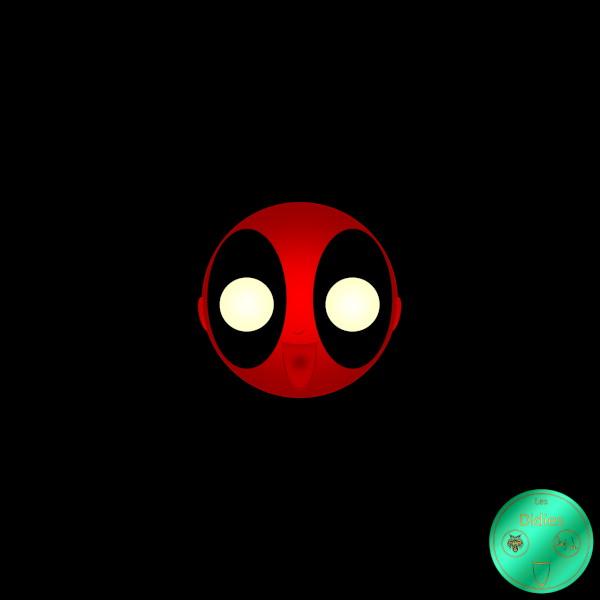 Didies [Marvel Comics] Wade Wilson alias Deadpool [2016-2018] (Création et conception graphique de Didier Desmet) [Artiste Infirme Moteur Cérébral] [Infirmité Motrice Cérébrale] [IMC] [Paralysie Cérébrale] [Cerebral Palsy] [Handicap] [Kawaii]