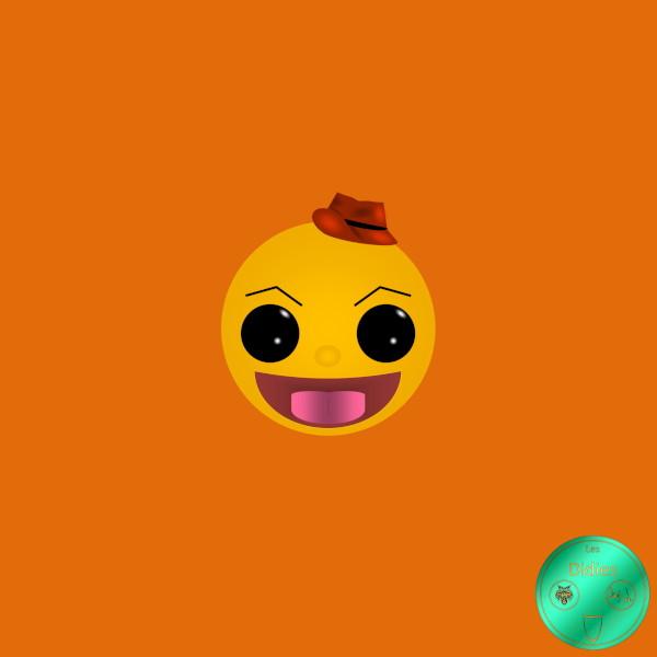 Didies [Pac-Man, 1982] Pac-Man [2018] (Création et conception graphique de Didier Desmet) [Artiste Infirme Moteur Cérébral] [Infirmité Motrice Cérébrale] [IMC] [Paralysie Cérébrale] [Cerebral Palsy] [Handicap] [Kawaii]