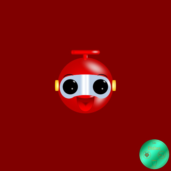 Didies [Ulysse 31 (Uch Densetsu Yurishzu Stwan), 1981] Nono, le petit robot [2018] (Création et conception graphique de Didier Desmet) [Artiste Infirme Moteur Cérébral] [Infirmité Motrice Cérébrale] [IMC] [Paralysie Cérébrale] [Cerebral Palsy] [Handicap] [Kawaii]
