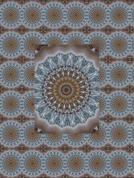 Edelweiss [2012] (Création et conception graphique de Didier Desmet) [Motif] [Pattern] [Motifs] [Patterns] [Artiste Infirme Moteur Cérébral] [Infirmité Motrice Cérébrale] [IMC] [Paralysie Cérébrale] [Cerebral Palsy] [Handicap]