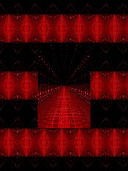 Enfer [2012] (Création et conception graphique de Didier Desmet) [Motif] [Pattern] [Motifs] [Patterns] [Artiste Infirme Moteur Cérébral] [Infirmité Motrice Cérébrale] [IMC] [Paralysie Cérébrale] [Cerebral Palsy] [Handicap]