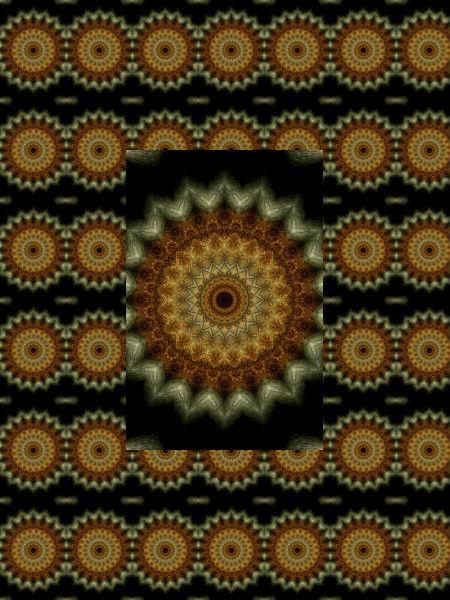 Engrenage antique [2012] (Création et conception graphique de Didier Desmet) [Motif] [Pattern] [Motifs] [Patterns] [Artiste Infirme Moteur Cérébral] [Infirmité Motrice Cérébrale] [IMC] [Paralysie Cérébrale] [Cerebral Palsy] [Handicap]