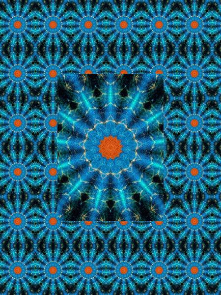 Flamme [2012] (Création et conception graphique de Didier Desmet) [Motif] [Pattern] [Motifs] [Patterns] [Artiste Infirme Moteur Cérébral] [Infirmité Motrice Cérébrale] [IMC] [Paralysie Cérébrale] [Cerebral Palsy] [Handicap]