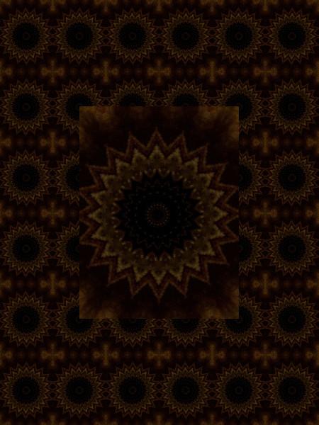 Floraisons d`éclipse [2012] (Création et conception graphique de Didier Desmet) [Motif] [Pattern] [Motifs] [Patterns] [Artiste Infirme Moteur Cérébral] [Infirmité Motrice Cérébrale] [IMC] [Paralysie Cérébrale] [Cerebral Palsy] [Handicap]