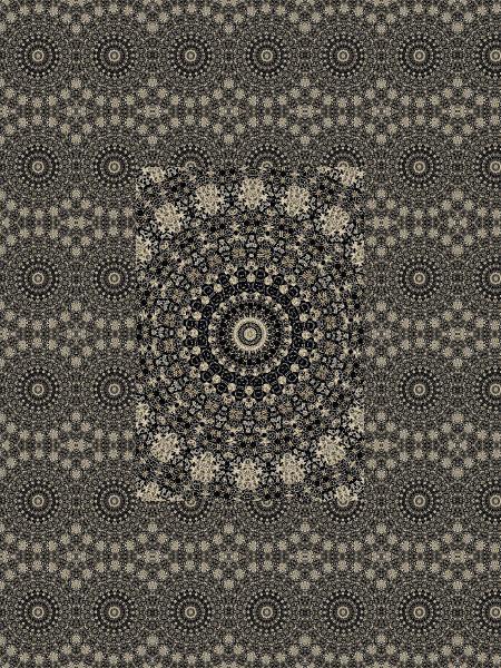 Gardiens aztèques [2012] (Création et conception graphique de Didier Desmet) [Motif] [Pattern] [Motifs] [Patterns] [Artiste Infirme Moteur Cérébral] [Infirmité Motrice Cérébrale] [IMC] [Paralysie Cérébrale] [Cerebral Palsy] [Handicap]