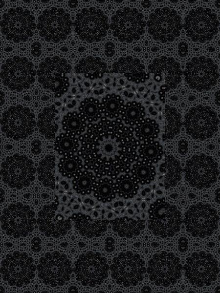 Guipure endeuillée [2012] (Création et conception graphique de Didier Desmet) [Motif] [Pattern] [Motifs] [Patterns] [Artiste Infirme Moteur Cérébral] [Infirmité Motrice Cérébrale] [IMC] [Paralysie Cérébrale] [Cerebral Palsy] [Handicap]
