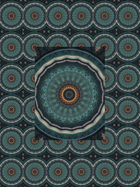 Iris baltiques [2012] (Création et conception graphique de Didier Desmet) [Motif] [Pattern] [Motifs] [Patterns] [Artiste Infirme Moteur Cérébral] [Infirmité Motrice Cérébrale] [IMC] [Paralysie Cérébrale] [Cerebral Palsy] [Handicap]