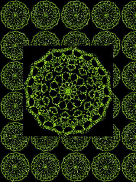 Jardin d`Eden [2012] (Création et conception graphique de Didier Desmet) [Motif] [Pattern] [Motifs] [Patterns] [Artiste Infirme Moteur Cérébral] [Infirmité Motrice Cérébrale] [IMC] [Paralysie Cérébrale] [Cerebral Palsy] [Handicap]