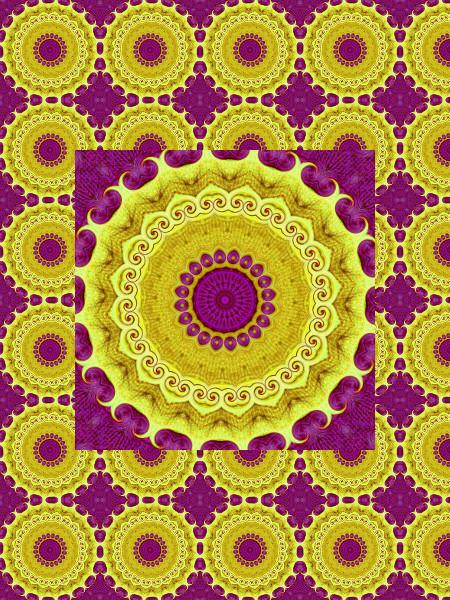 La couronne volée [2012] (Création et conception graphique de Didier Desmet) [Motif] [Pattern] [Motifs] [Patterns] [Artiste Infirme Moteur Cérébral] [Infirmité Motrice Cérébrale] [IMC] [Paralysie Cérébrale] [Cerebral Palsy] [Handicap]