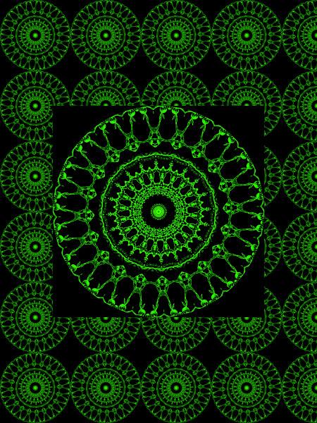 La danse des grenouilles [2012] (Création et conception graphique de Didier Desmet) [Motif] [Pattern] [Motifs] [Patterns] [Artiste Infirme Moteur Cérébral] [Infirmité Motrice Cérébrale] [IMC] [Paralysie Cérébrale] [Cerebral Palsy] [Handicap]