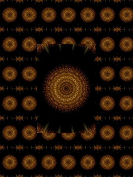 La fin du monde [2012] (Création et conception graphique de Didier Desmet) [Motif] [Pattern] [Motifs] [Patterns] [Artiste Infirme Moteur Cérébral] [Infirmité Motrice Cérébrale] [IMC] [Paralysie Cérébrale] [Cerebral Palsy] [Handicap]