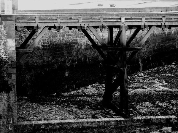 La jetée - Le Tréport (Seine-Maritime - 76470) [2016] (Photo de Didier Desmet) Monochrome [Artiste Infirme Moteur Cérébral] [Infirmité Motrice Cérébrale] [IMC] [Paralysie Cérébrale] [Cerebral Palsy] [Handicap]