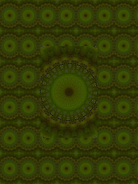 L`arène d`émeraude [2012] (Création et conception graphique de Didier Desmet) [Motif] [Pattern] [Motifs] [Patterns] [Artiste Infirme Moteur Cérébral] [Infirmité Motrice Cérébrale] [IMC] [Paralysie Cérébrale] [Cerebral Palsy] [Handicap]