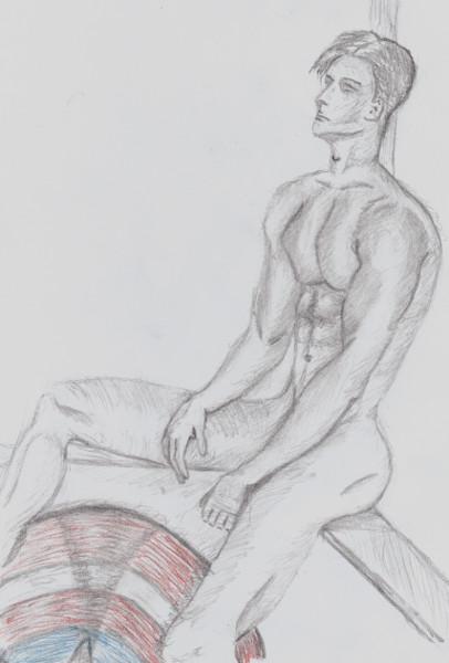 Nus (Dessins de Didier Desmet) [Artiste Infirme Moteur Cérébral] [Infirmité Motrice Cérébrale] [IMC] [Paralysie Cérébrale] [Cerebral Palsy] [Handicap]