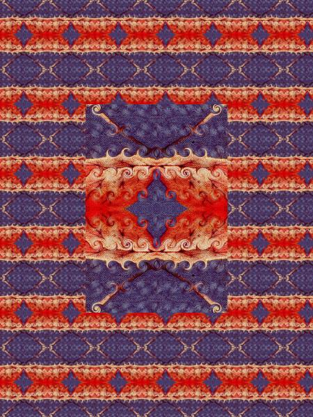 Le miroir sans reflet [2012] (Création et conception graphique de Didier Desmet) [Motif] [Pattern] [Motifs] [Patterns] [Artiste Infirme Moteur Cérébral] [Infirmité Motrice Cérébrale] [IMC] [Paralysie Cérébrale] [Cerebral Palsy] [Handicap]
