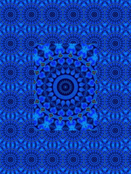 Le royaume des mers [2012] (Création et conception graphique de Didier Desmet) [Motif] [Pattern] [Motifs] [Patterns] [Artiste Infirme Moteur Cérébral] [Infirmité Motrice Cérébrale] [IMC] [Paralysie Cérébrale] [Cerebral Palsy] [Handicap]
