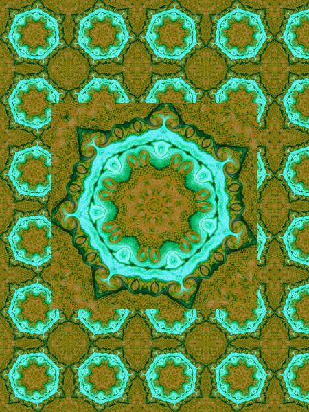 Les eaux de la citadelle [2012] (Création et conception graphique de Didier Desmet) [Motif] [Pattern] [Motifs] [Patterns] [Artiste Infirme Moteur Cérébral] [Infirmité Motrice Cérébrale] [IMC] [Paralysie Cérébrale] [Cerebral Palsy] [Handicap]