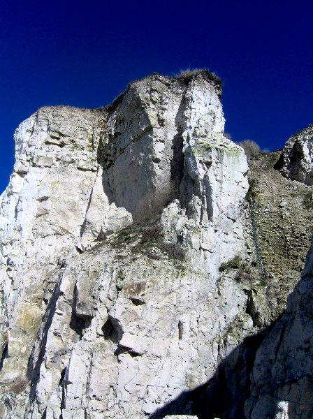 Les falaises d`Ault - Vers Onival (Somme - 80460) [2005] (Photo de Didier Desmet) [Artiste Infirme Moteur Cérébral] [Infirmité Motrice Cérébrale] [IMC] [Paralysie Cérébrale] [Cerebral Palsy] [Handicap]