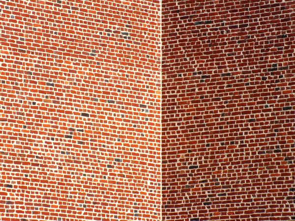 Lille - Briques - Perspective [2012] (Photo de Didier Desmet) [Artiste Infirme Moteur Cérébral] [Infirmité Motrice Cérébrale] [IMC] [Paralysie Cérébrale] [Cerebral Palsy] [Handicap]
