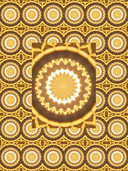 Mosaque solaire [2012] (Création et conception graphique de Didier Desmet) [Motif] [Pattern] [Motifs] [Patterns] [Artiste Infirme Moteur Cérébral] [Infirmité Motrice Cérébrale] [IMC] [Paralysie Cérébrale] [Cerebral Palsy] [Handicap]