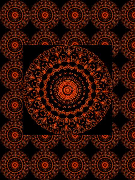 Mythologie [2012] (Création et conception graphique de Didier Desmet) [Motif] [Pattern] [Motifs] [Patterns] [Artiste Infirme Moteur Cérébral] [Infirmité Motrice Cérébrale] [IMC] [Paralysie Cérébrale] [Cerebral Palsy] [Handicap]