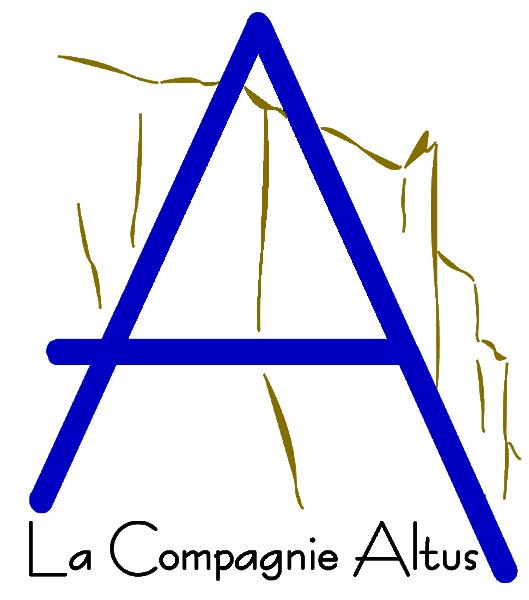 Nouveau logo de La Compagnie Altus [2008] (Création de Didier Desmet) [Artiste Infirme Moteur Cérébral] [Infirmité Motrice Cérébrale] [IMC] [Paralysie Cérébrale] [Cerebral Palsy] [Handicap]