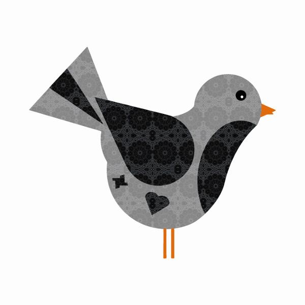 Oiseau #10 [2014-2015] (Création et conception graphique de Didier Desmet) [Artiste Infirme Moteur Cérébral] [Infirmité Motrice Cérébrale] [IMC] [Paralysie Cérébrale] [Cerebral Palsy] [Handicap] [Kawaii]