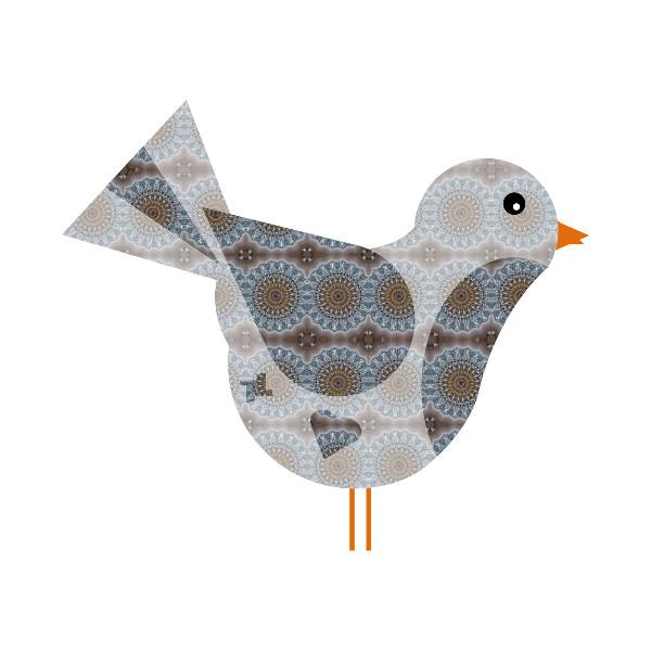 Oiseau #15 [2014-2015] (Création et conception graphique de Didier Desmet) [Artiste Infirme Moteur Cérébral] [Infirmité Motrice Cérébrale] [IMC] [Paralysie Cérébrale] [Cerebral Palsy] [Handicap] [Kawaii]