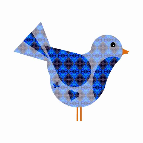 Oiseau #16 [2014-2015] (Création et conception graphique de Didier Desmet) [Artiste Infirme Moteur Cérébral] [Infirmité Motrice Cérébrale] [IMC] [Paralysie Cérébrale] [Cerebral Palsy] [Handicap] [Kawaii]