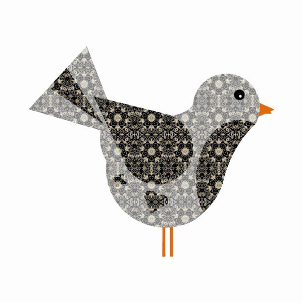Oiseau #2 [2014-2015] (Création et conception graphique de Didier Desmet) [Artiste Infirme Moteur Cérébral] [Infirmité Motrice Cérébrale] [IMC] [Paralysie Cérébrale] [Cerebral Palsy] [Handicap] [Kawaii]