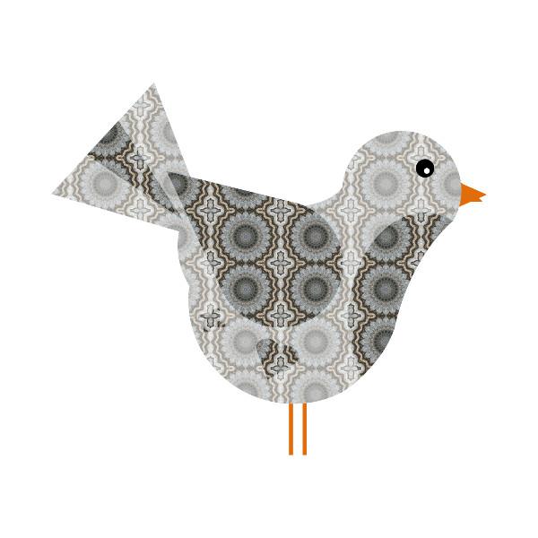 Oiseau #20 [2014-2015] (Création et conception graphique de Didier Desmet) [Artiste Infirme Moteur Cérébral] [Infirmité Motrice Cérébrale] [IMC] [Paralysie Cérébrale] [Cerebral Palsy] [Handicap] [Kawaii]