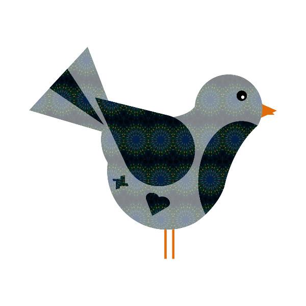 Oiseau #35 [2014-2015] (Création et conception graphique de Didier Desmet) [Artiste Infirme Moteur Cérébral] [Infirmité Motrice Cérébrale] [IMC] [Paralysie Cérébrale] [Cerebral Palsy] [Handicap] [Kawaii]