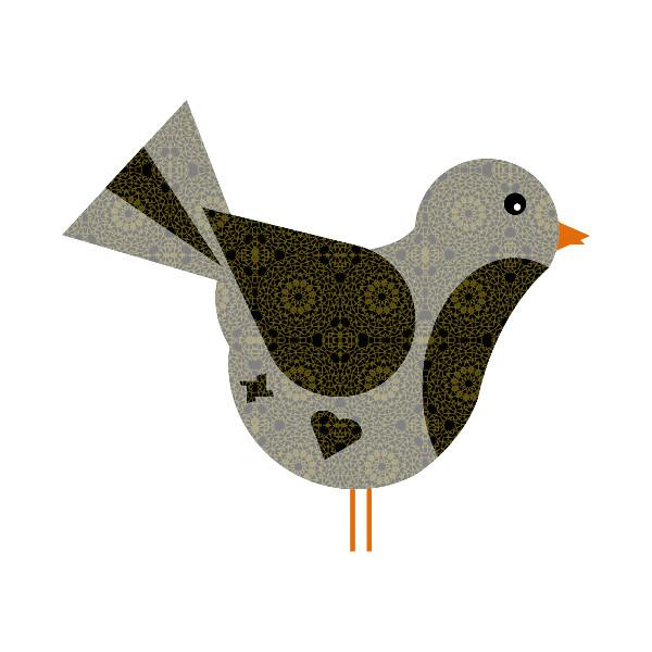 Oiseau #40 [2014-2015] (Création et conception graphique de Didier Desmet) [Artiste Infirme Moteur Cérébral] [Infirmité Motrice Cérébrale] [IMC] [Paralysie Cérébrale] [Cerebral Palsy] [Handicap] [Kawaii]