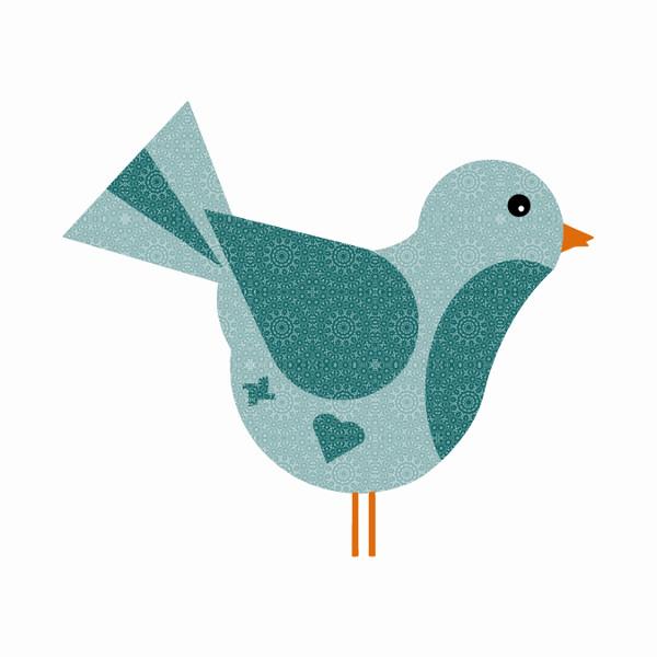 Oiseau #5 [2014-2015] (Création et conception graphique de Didier Desmet) [Artiste Infirme Moteur Cérébral] [Infirmité Motrice Cérébrale] [IMC] [Paralysie Cérébrale] [Cerebral Palsy] [Handicap] [Kawaii]