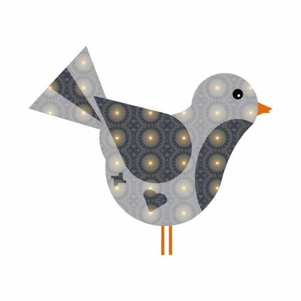 Oiseau #6 [2014-2015] (Création et conception graphique de Didier Desmet) [Artiste Infirme Moteur Cérébral] [Infirmité Motrice Cérébrale] [IMC] [Paralysie Cérébrale] [Cerebral Palsy] [Handicap] [Kawaii]