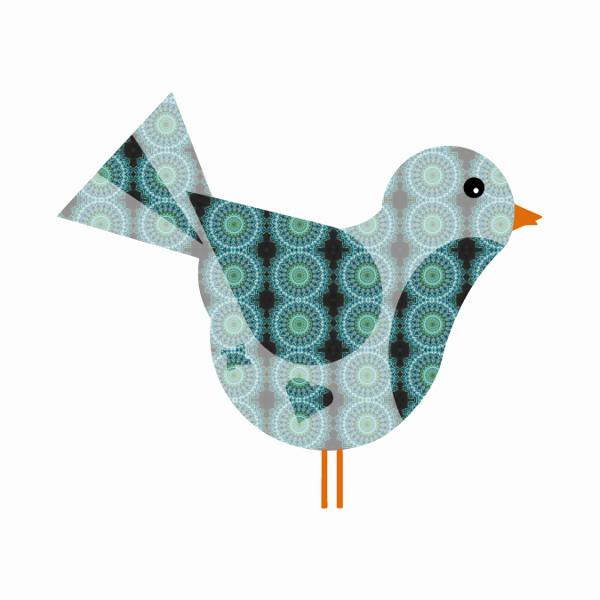 Oiseau #9 [2014-2015] (Création et conception graphique de Didier Desmet) [Artiste Infirme Moteur Cérébral] [Infirmité Motrice Cérébrale] [IMC] [Paralysie Cérébrale] [Cerebral Palsy] [Handicap] [Kawaii]