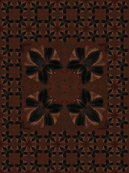 Motifs Floraisons abstraites (Créations et conceptions graphiques de Didier Desmet) [Motif] [Pattern] [Patterns] [Artiste Infirme Moteur Cérébral] [Infirmité Motrice Cérébrale] [IMC] [Paralysie Cérébrale] [Cerebral Palsy] [Handicap]