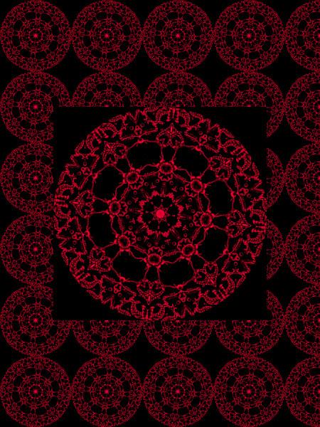 Oursons maléfiques [2012] (Création et conception graphique de Didier Desmet) [Motif] [Pattern] [Motifs] [Patterns] [Artiste Infirme Moteur Cérébral] [Infirmité Motrice Cérébrale] [IMC] [Paralysie Cérébrale] [Cerebral Palsy] [Handicap]