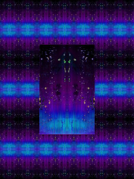 Paranormal [2012] (Création et conception graphique de Didier Desmet) [Motif] [Pattern] [Motifs] [Patterns] [Artiste Infirme Moteur Cérébral] [Infirmité Motrice Cérébrale] [IMC] [Paralysie Cérébrale] [Cerebral Palsy] [Handicap]