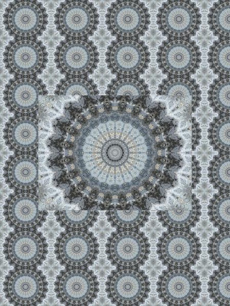 Pierre bleue #11 [2012] (Création et conception graphique de Didier Desmet) [Motif] [Pattern] [Motifs] [Patterns] [Artiste Infirme Moteur Cérébral] [Infirmité Motrice Cérébrale] [IMC] [Paralysie Cérébrale] [Cerebral Palsy] [Handicap]