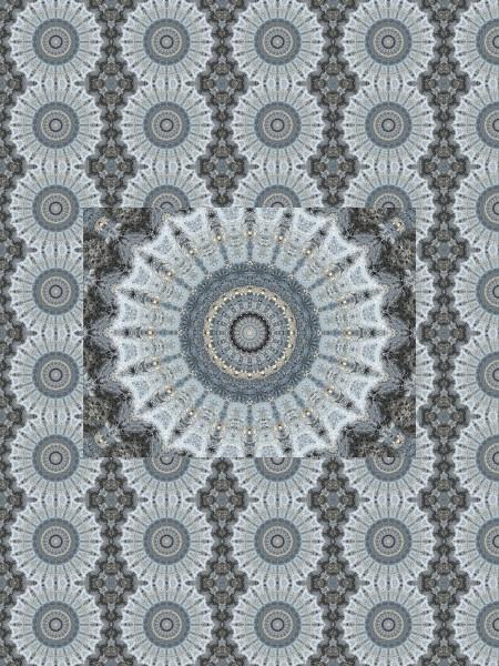Pierre bleue #2 [2012] (Création et conception graphique de Didier Desmet) [Motif] [Pattern] [Motifs] [Patterns] [Artiste Infirme Moteur Cérébral] [Infirmité Motrice Cérébrale] [IMC] [Paralysie Cérébrale] [Cerebral Palsy] [Handicap]