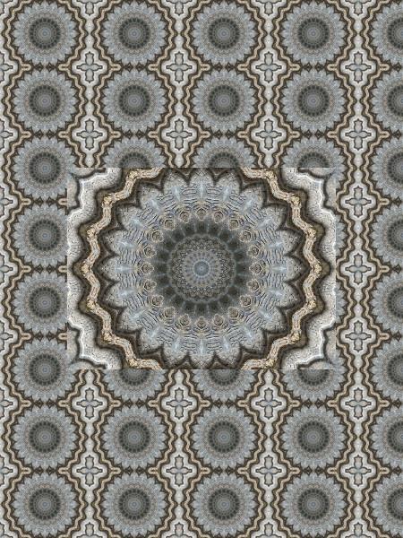Pierre bleue #7 [2012] (Création et conception graphique de Didier Desmet) [Motif] [Pattern] [Motifs] [Patterns] [Artiste Infirme Moteur Cérébral] [Infirmité Motrice Cérébrale] [IMC] [Paralysie Cérébrale] [Cerebral Palsy] [Handicap]