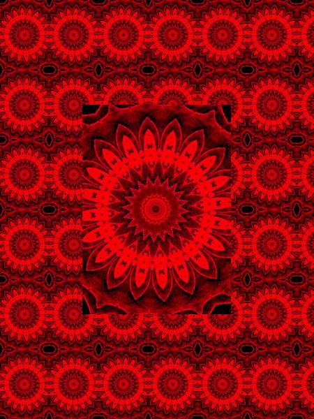 Rouages floraux [2012] (Création et conception graphique de Didier Desmet) [Motif] [Pattern] [Motifs] [Patterns] [Artiste Infirme Moteur Cérébral] [Infirmité Motrice Cérébrale] [IMC] [Paralysie Cérébrale] [Cerebral Palsy] [Handicap]