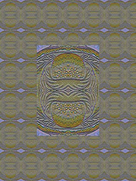 Scarabée doré [2012] (Création et conception graphique de Didier Desmet) [Motif] [Pattern] [Motifs] [Patterns] [Artiste Infirme Moteur Cérébral] [Infirmité Motrice Cérébrale] [IMC] [Paralysie Cérébrale] [Cerebral Palsy] [Handicap]