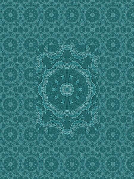 Soleil bleu [2012] (Création et conception graphique de Didier Desmet) [Motif] [Pattern] [Motifs] [Patterns] [Artiste Infirme Moteur Cérébral] [Infirmité Motrice Cérébrale] [IMC] [Paralysie Cérébrale] [Cerebral Palsy] [Handicap]