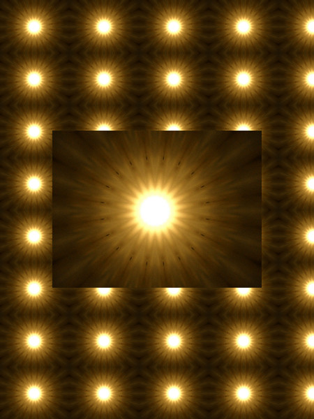 Soleils en réseau [2012] (Création et conception graphique de Didier Desmet) [Motif] [Pattern] [Motifs] [Patterns] [Artiste Infirme Moteur Cérébral] [Infirmité Motrice Cérébrale] [IMC] [Paralysie Cérébrale] [Cerebral Palsy] [Handicap]