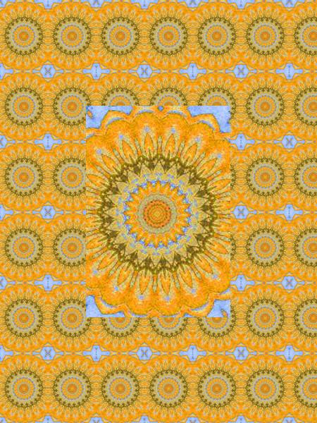 Soucis vintage [2012] (Création et conception graphique de Didier Desmet) [Motif] [Pattern] [Motifs] [Patterns] [Artiste Infirme Moteur Cérébral] [Infirmité Motrice Cérébrale] [IMC] [Paralysie Cérébrale] [Cerebral Palsy] [Handicap]
