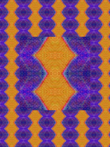 Tapisserie [2012] (Création et conception graphique de Didier Desmet) [Motif] [Pattern] [Motifs] [Patterns] [Artiste Infirme Moteur Cérébral] [Infirmité Motrice Cérébrale] [IMC] [Paralysie Cérébrale] [Cerebral Palsy] [Handicap]