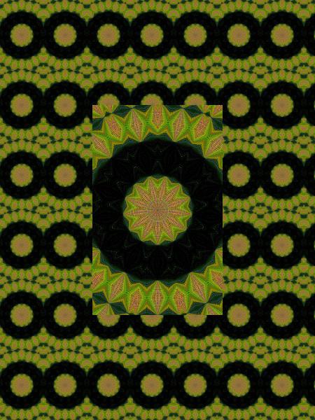 Toile [2012] (Création et conception graphique de Didier Desmet) [Motif] [Pattern] [Motifs] [Patterns] [Artiste Infirme Moteur Cérébral] [Infirmité Motrice Cérébrale] [IMC] [Paralysie Cérébrale] [Cerebral Palsy] [Handicap]