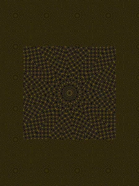 Toile dorée [2012] (Création et conception graphique de Didier Desmet) [Motif] [Pattern] [Motifs] [Patterns] [Artiste Infirme Moteur Cérébral] [Infirmité Motrice Cérébrale] [IMC] [Paralysie Cérébrale] [Cerebral Palsy] [Handicap]